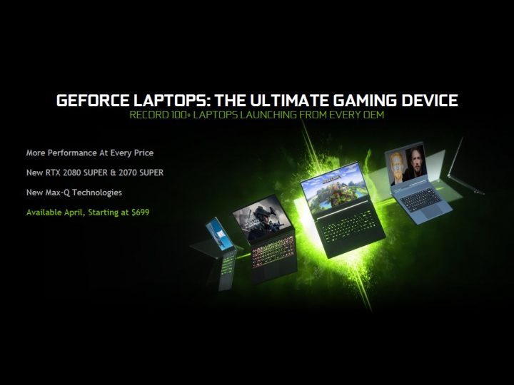 Nvidia launches GeForce RTX 2080 SUPER for laptops