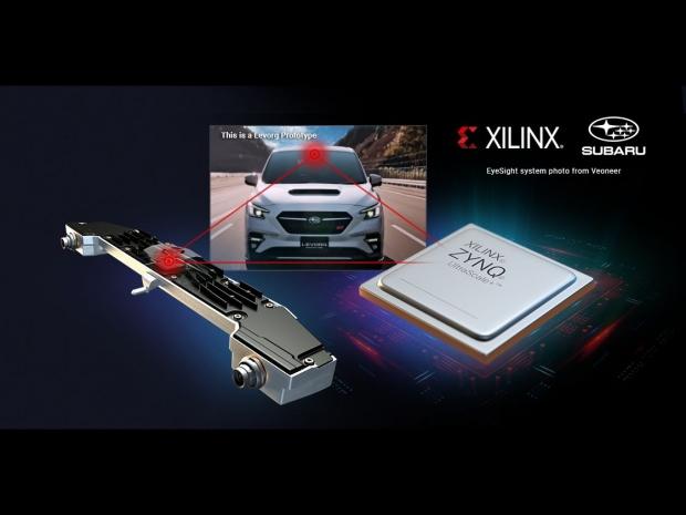 Xilinx scores Subaru Levorg ADAS design win